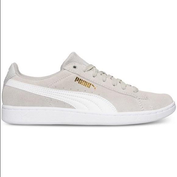 3e011b5b21d5 Puma Vikky Canvas Casual Sneakers Finish Line. M 5be707a1035cf119bfeb2e3d